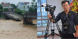 Yên Bái: Sập cầu, một phóng viên đang tác nghiệp mất tích trong cơn lũ dữ