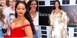 Hoảng hốt với những lần Rihanna diện váy gợi cảm 'chèn ép' vòng 1 đến 'ngạt thở'