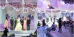 Độc quyền: Đặng Thu Thảo diện váy trắng lộng lẫy như 'công chúa' bên chồng đại gia