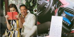 yan.vn - tin sao, ngôi sao - Ở bên nhau chưa đủ, Kim Lý còn lãng mạn viết thư tay gửi Hồ Ngọc Hà?