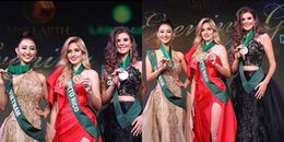 Đại diện Việt Nam ở Miss Earth 2017 tiếp tục giành huy chương đồng trang phục dạ hội