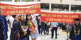 Đây chính là món quà mừng tốt nghiệp 'bá đạo' mà bạn bè dành cho cô nữ sinh đại học Mở