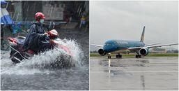 Áp thấp khả năng mạnh lên thành bão: Miền Trung gió giật cấp 10, hàng loạt chuyến bay bị hủy bỏ