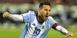 Messi lập hattrick, Argentina thoát chết ngoạn mục trên sân Ecuador