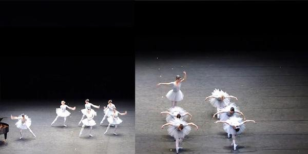 Khán giả được dịp cười thoải mái khi cô nàng vũ công ballet trình diễn 'sai quá sai'