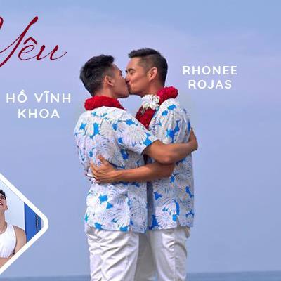Hành trình từ yêu đến đám cưới của Hồ Vĩnh Khoa và bạn trai