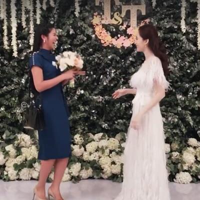 Hậu đám cưới cổ tích, Đặng Thu Thảo ném hoa cưới cho bạn thân Ngọc Hân