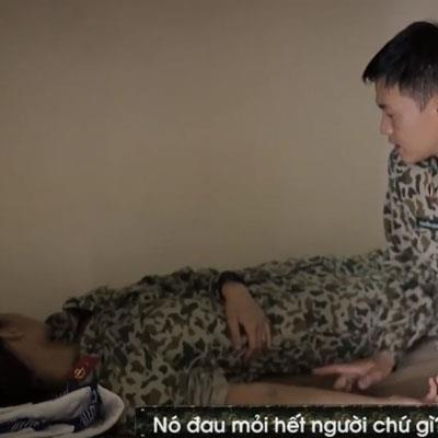 Sau scandal chèn ép, Mai Ngô đổ bệnh vì tập luyện quá sức trong quân ngũ