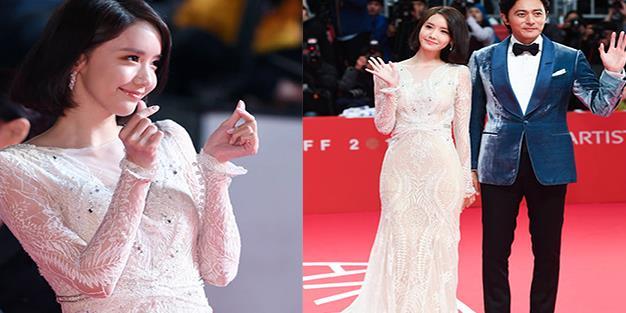 yan.vn - tin sao, ngôi sao - Yoona tươi cười rạng rỡ sánh đôi bên nam tài tử điển trai Jang Dong Gun sau