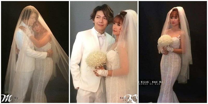 yan.vn - tin sao, ngôi sao - Khởi My dịu dàng tựa vai Kelvin Khánh tình cảm trong bộ ảnh cưới