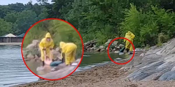 2 người đàn ông vớt được người cá tại Mỹ nhưng nhìn bộ ngực của nàng cá dân mạng đã phản đối dữ dội