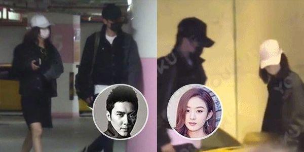'Sở Kiều' Triệu Lệ Dĩnh bị paparazzi bắt gặp cùng Phùng Thiệu Phong đến khách sạn qua đêm