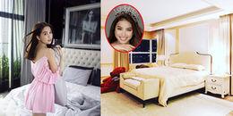 Phòng ngủ của mỹ nhân Việt chưa kết hôn: Người tím mộng mơ, kẻ sang trọng bất ngờ