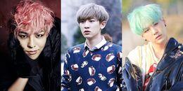Điểm danh những mỹ nam Kpop có nguy cơ bị 'hói' do nhuộm tóc thường xuyên