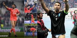 Hòa nhạt Barca, Gigi Buffon vẫn 'tuột quần' ăn mừng cùng người hâm mộ