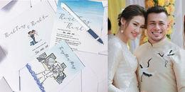 yan.vn - tin sao, ngôi sao - Lộ thiệp cưới độc đáo của mỹ nhân hội bạn thân Phạm Hương và chồng diễn viên