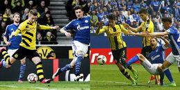 Highlights Borussia Dortmund 4 - 4 Schalke 04: 30 phút điên rồ tại Signal Iduna Park