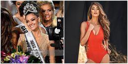 Cận nhan sắc nóng bỏng của tân Hoa hậu Hoàn vũ Thế giới 2017