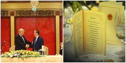 Bánh cuốn Thanh Trì, bánh cốm, gà Đông Tảo có mặt trong tiệc thiết đãi tổng thống Trump