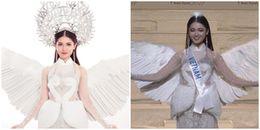 NTK trang phục dân tộc trách Thùy Dung: 'Thi Hoa hậu mà mấn 2kg không đội được'
