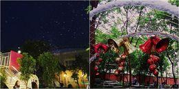 """Sinh viên Đại học Thăng Long tung tăng trong """"tuyết"""" giữa vườn trường, 'hết nấc' thật sự!"""