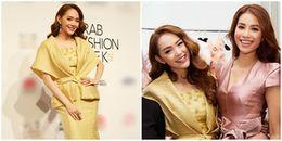 Đeo kim cương 20 tỷ, Minh Hằng tỏa sáng 'bần bật' ở Dubai Fashion Week 2017