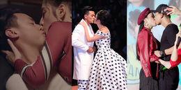 Những nụ hôn nóng bỏng của Angela Phương Trinh với dàn 'người tình' điển trai