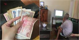 Rớt nước mắt nhìn cọc tiền lẻ của ông ngoại dành cho cháu đi học ở xa, đọc mà nhớ ông ghê gớm!