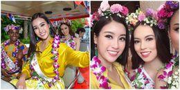 Đỗ Mỹ Linh diện váy vàng, đứng góc nào cũng nổi bật 'lất át' dàn thí sinh Miss World 2017