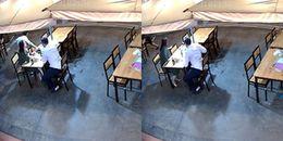 Quảng Ninh: Khách nước ngoài ngỡ ngàng khi bị giật túi xách ngay trên bàn ăn