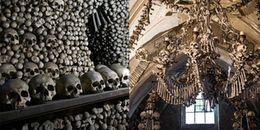 Nhà thờ xương người tại Czech: 40.000 mảnh xương tạo nên khung cảnh chết chóc đáng sợ