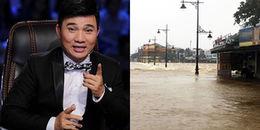Nhà ca sĩ Quang Linh tại Huế ngập sâu 2 mét trong nước lũ