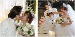Clip: Kelvin Khánh dìu Khởi My vào lễ đường, ngọt ngào hát tặng bà xã