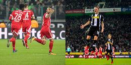 Highlights Borussia Moenchengladbach 2 - 1 Bayern Munich: Hùm xám đã biết mùi thất bại