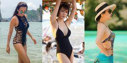 Bất chấp tuổi tác U50, dàn mỹ nhân Việt sau vẫn gây ngưỡng mộ khi diện bikini 'ngon lành cành đào''