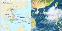 Tin bão số 14: suy yếu thành áp thấp nhiệt đới trước khi vào đất liền