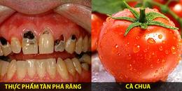 Đừng dại mà ăn những thứ này nếu không muốn 'răng đi cả hàm'