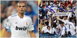 Pepe lên tiếng chỉ trích cổ động viên của Real Madrid