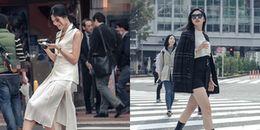 yan.vn - tin sao, ngôi sao - Á hậu Thanh Tú khoe chân dài quyến rũ giữa cái lạnh 14 độ C ở Nhật Bản