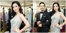 Đỗ Mỹ Linh diện váy xuyên thấu đi sự kiện sau khi đoạt giải Hoa hậu nhân ái