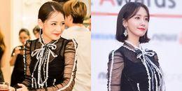 Cơ hội nào cho Yoona khi mặc lại bộ váy của Chi Pu?