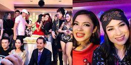 Dàn sao Việt 'quậy' tưng bừng trong tiệc sinh nhật của Việt Trinh ở Mỹ