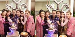 Ở tuổi 37, Hồ Hạnh Nhi tổ chức sinh nhật theo phong cách 'mẹ bỉm sữa' bên hội bạn thân