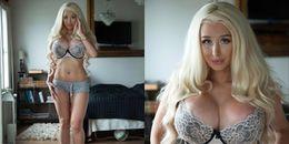 Suýt chết vì nâng ngực, cô nàng này vẫn quyết tâm trở thành búp bê Barbie sống