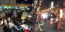 TP.HCM: Tài xế ô tô say xỉn, tông vào xe đặc chủng của CSGT rồi bỏ chạy khỏi hiện trường