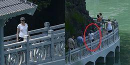 'Nữ tướng' Facebook cùng 2 con đi du thuyền thăm Vịnh Hạ Long