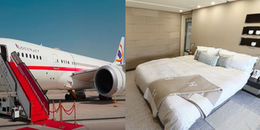 Cận cảnh chiếc máy bay siêu xa xỉ đang được chào thuê tại Dubai