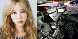 Công bố đoạn camera giao thông ghi lại vụ tai nạn xe liên hoàn của Taeyeon với nhiều nghi vấn