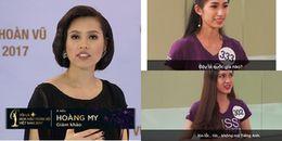 Thí sinh Hoa hậu Hoàn vũ Việt Nam 2017 không biết 'Trung Quốc' tiếng Anh nói là gì