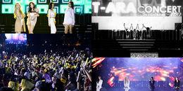 Chùm ảnh đẹp 'ngất ngây', đáng nhớ nhất của T-ara trong concert đầu tiên tại Việt Nam
